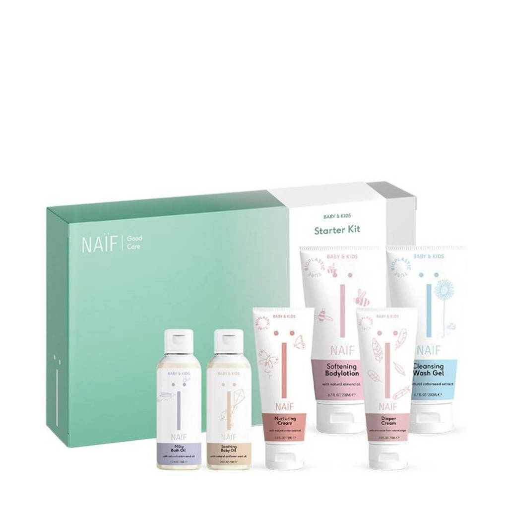 NAÏF Starter Kit verzorging giftbox