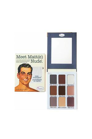 Meet Matte Nude Oogschaduw Palette