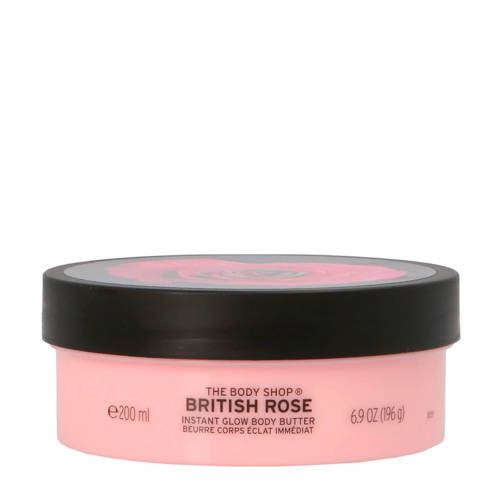 The Bodyshop British Rose Instant Glow Body Butter 200 ml