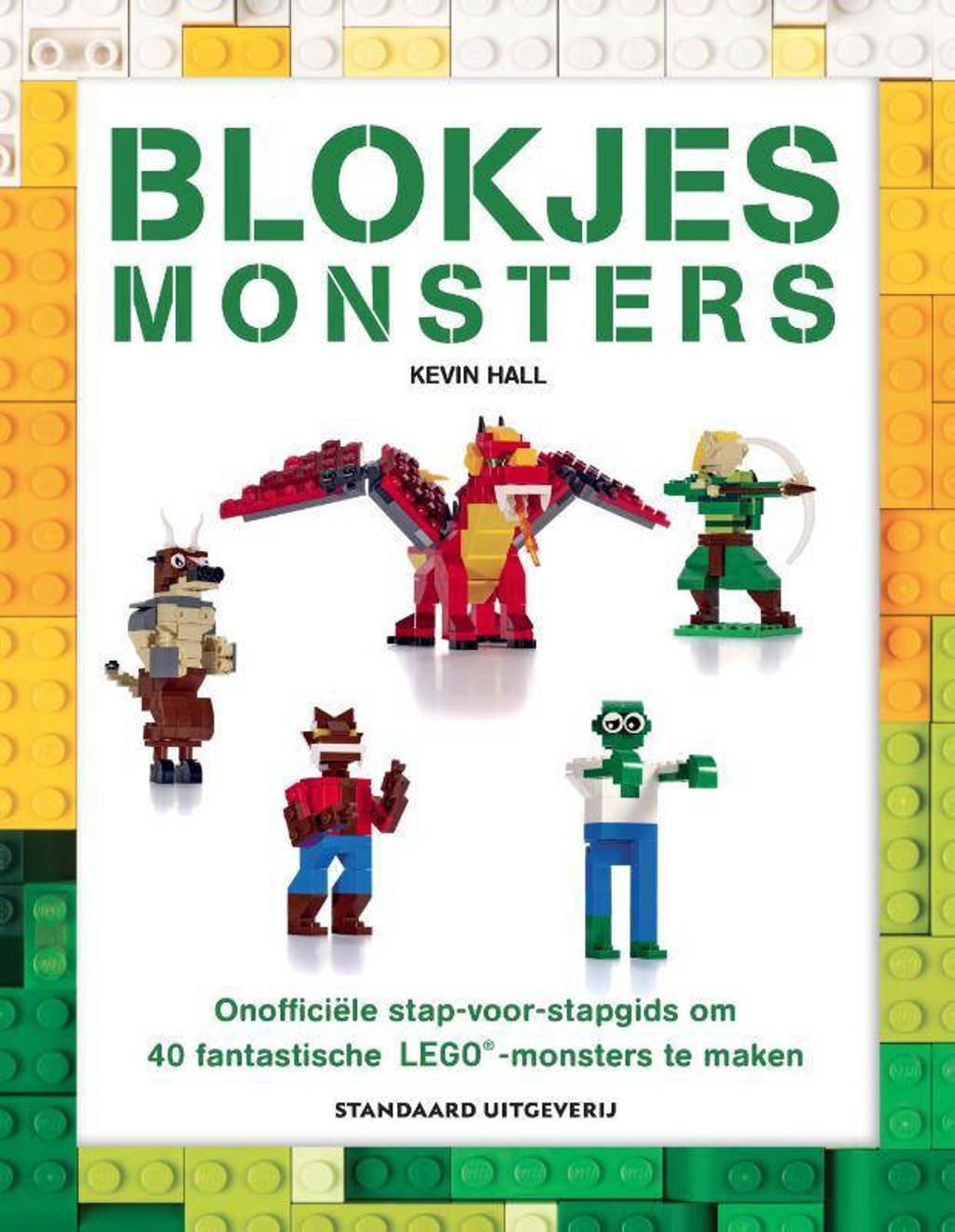 Blokjes monsters - Kevin Hall