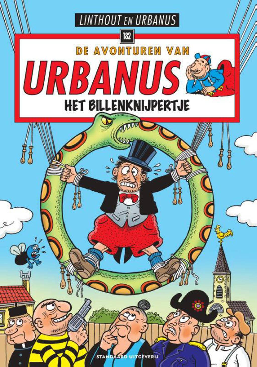 Urbanus: Het billenknijpertje - Willy Linthout en