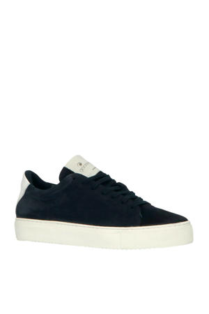 Jason Cupsole  suède sneakers blauw