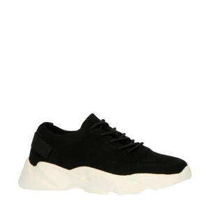 chunky sneakers zwart