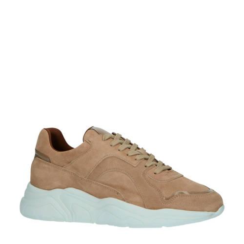 Bianco 64-71792 su??de chunky sneakers lichtbruin