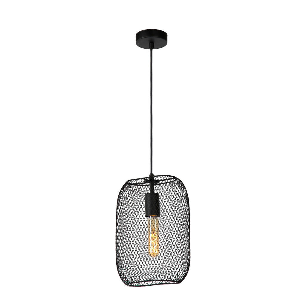 Lucide hanglamp Mesh, Zwart