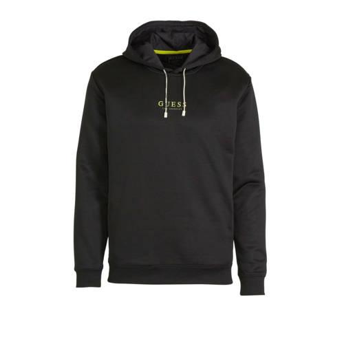 GUESS hoodie met logo zwart