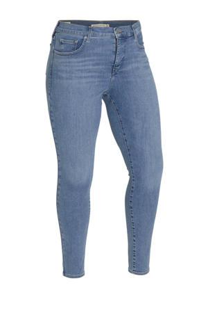 310 skinny jeans blauw