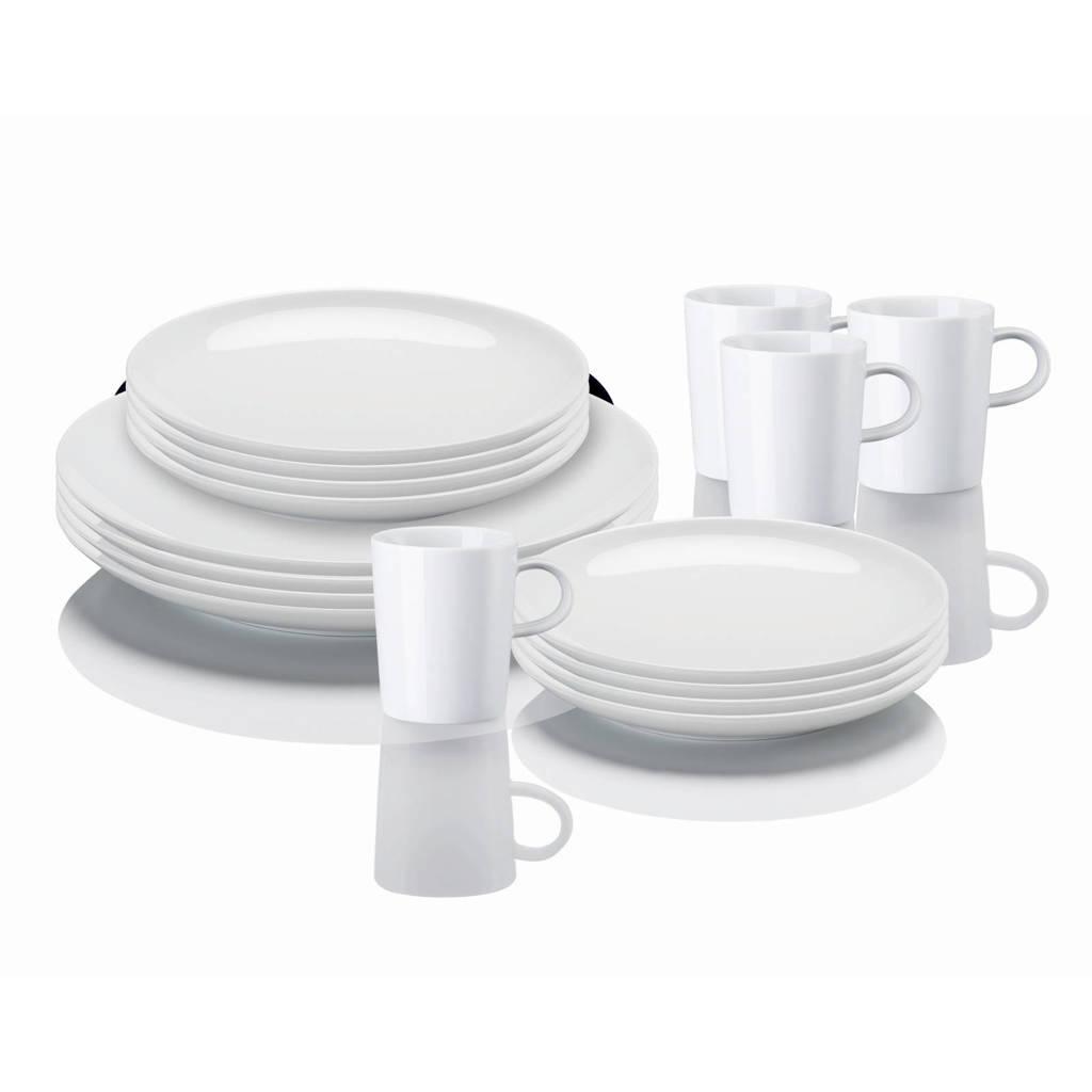 Arzberg serviesset Cucina (16-delig), Wit