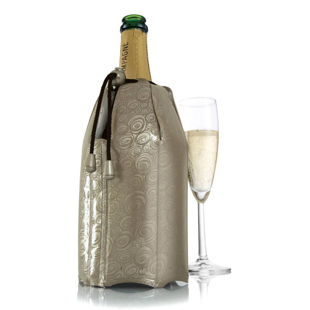 Vacuvin champagnekoeler, Goudkleurig