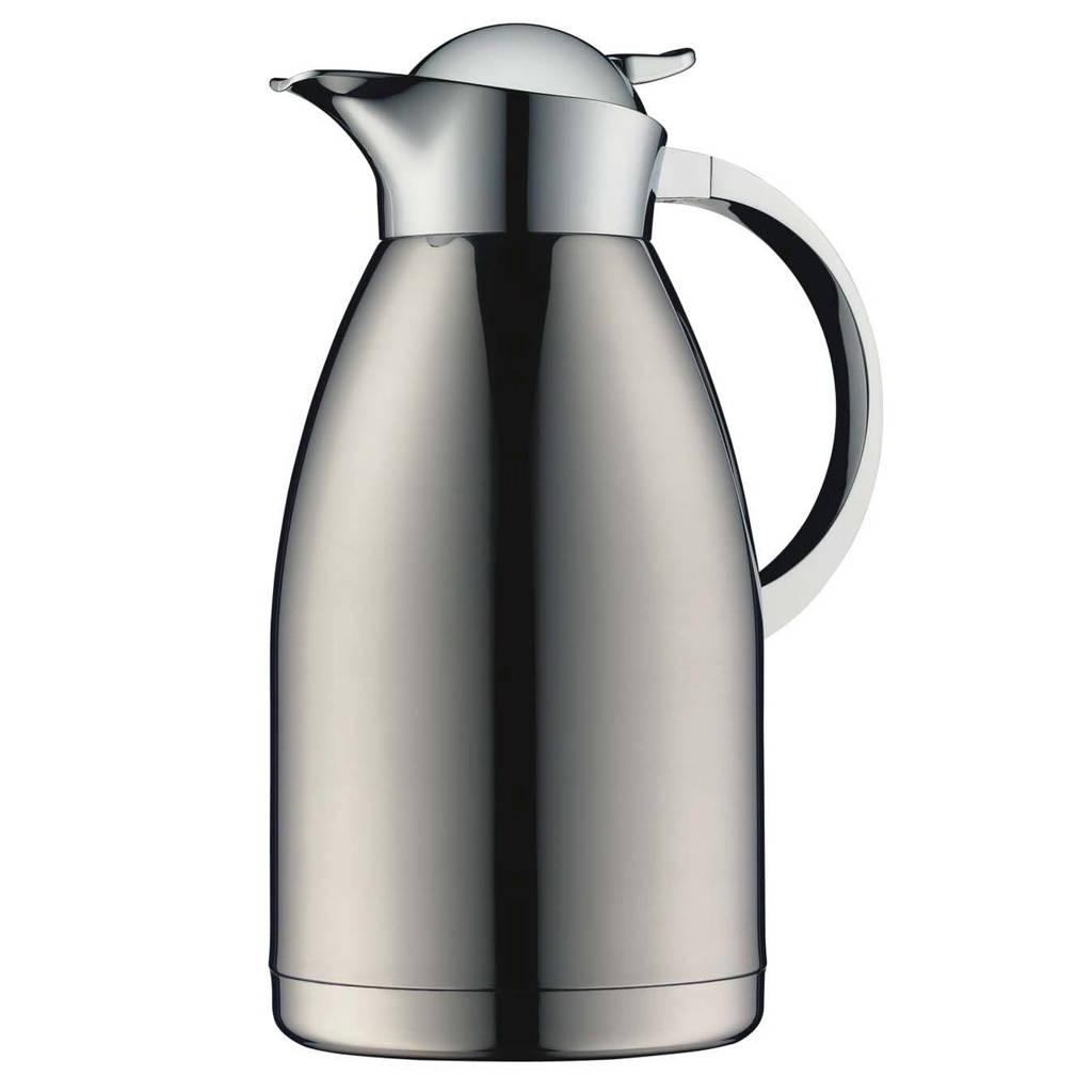 Alfi thermoskan Albergo 1.5 liter, Zilverkleurig