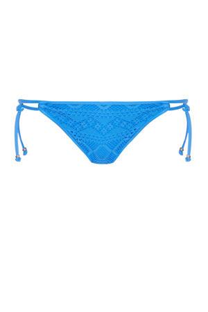 strik bikinibroekje blauw