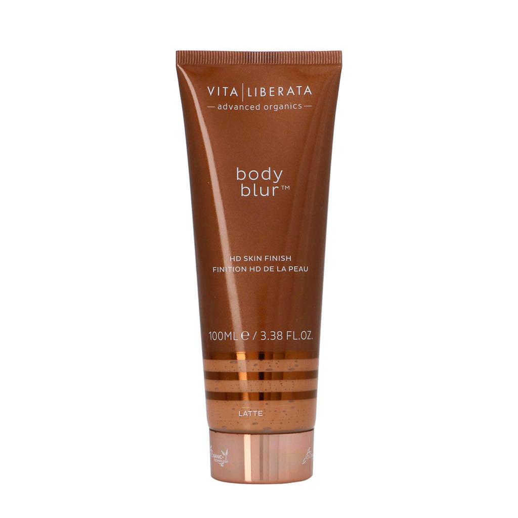 Vita Liberata Body Blur HD Skin Finish Body Make-up en Wash-Off Zelfbruiner BB Cream - Latte Medium, Latte Medium