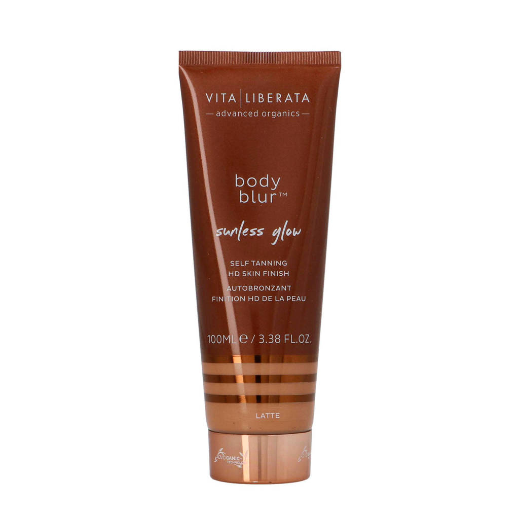 Vita Liberata Body Blur HD Skin Finish Body Make-up en Wash-Off Zelfbruiner BB Cream - Latte