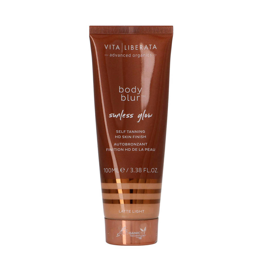 Vita Liberata Body Blur HD Skin Finish Body Make-up en Wash-Off Zelfbruiner BB Cream - Light