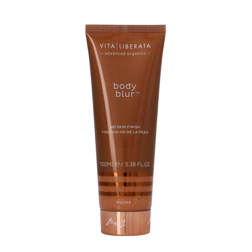 Vita Liberata Body Blur HD Skin Finish Body Make-up en Wash-Off Zelfbruiner BB Cream - Dark Mocha