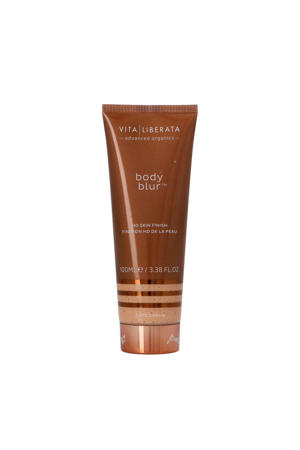 Body Blur HD Skin Finish Body Make-up en Wash-Off Zelfbruiner BB Cream - Café Crème