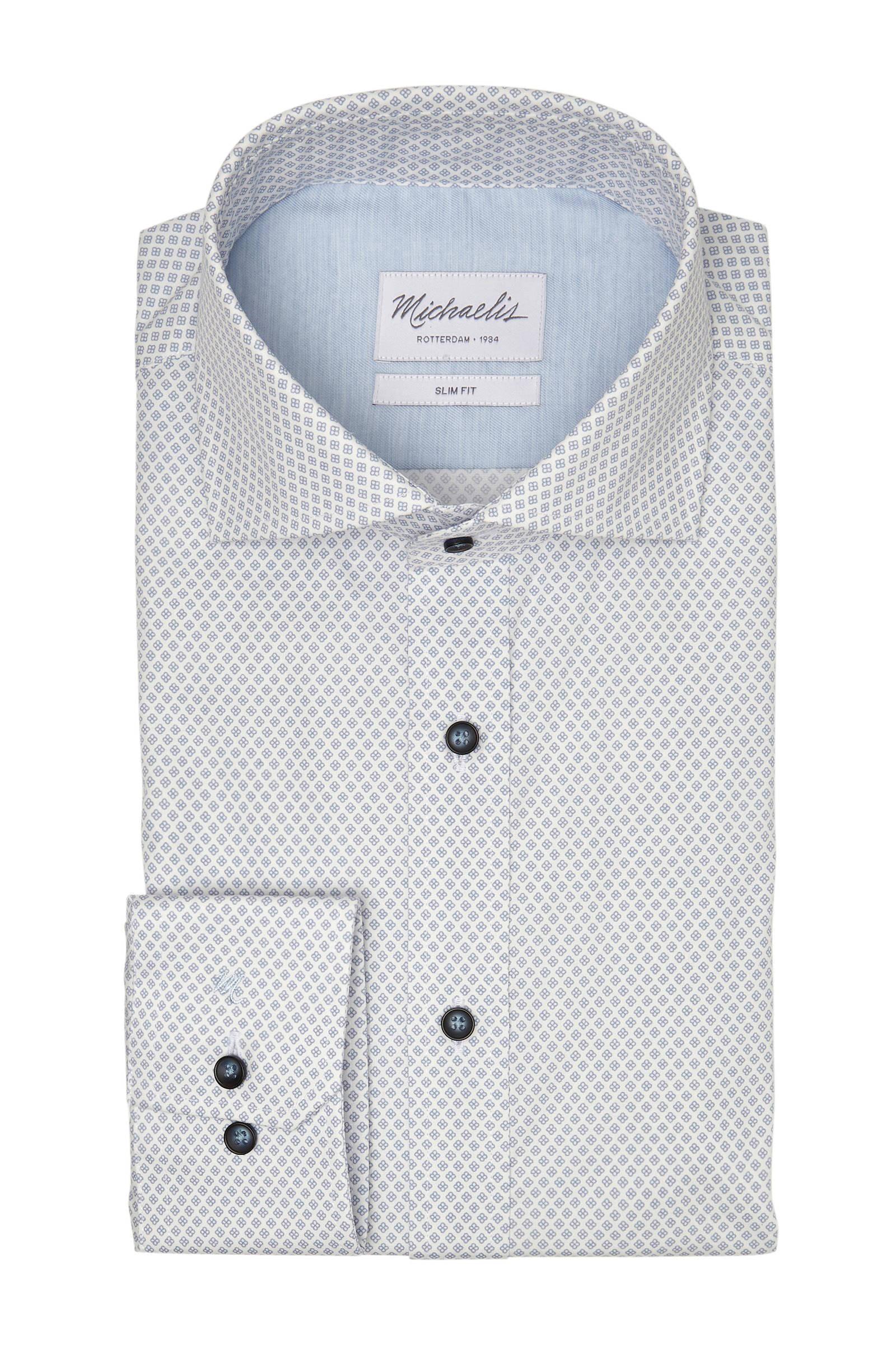 Michaelis Slim Fit overhemd, galaxy print SALE tot 50