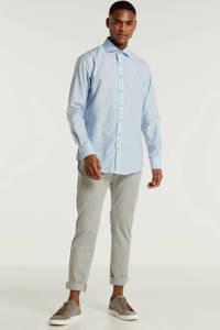 Michaelis slim fit overhemd blauw, Blauw