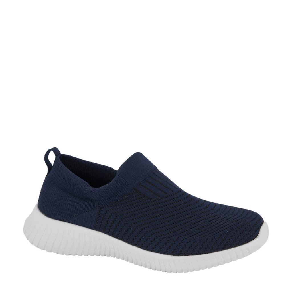 Venice   slip-on sneakers donkerblauw, Donkerblauw