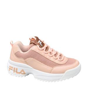 chunky sneakers roségoud