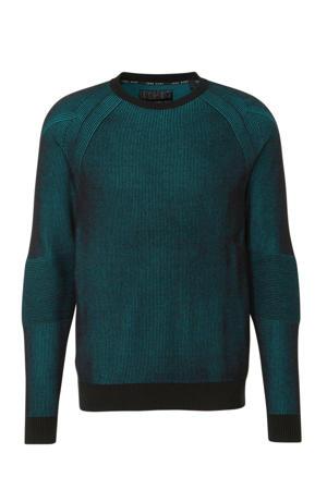 gemêleerde trui groen