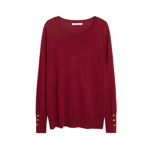 Violeta by Mango gebreide trui rood