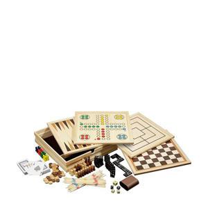 houten spellenset bordspel
