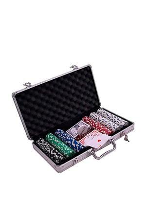 Pokerset aluminium koffer 500 chips