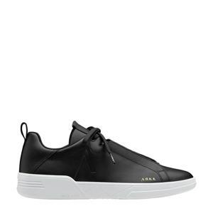 Uniklass  leren sneakers zwart
