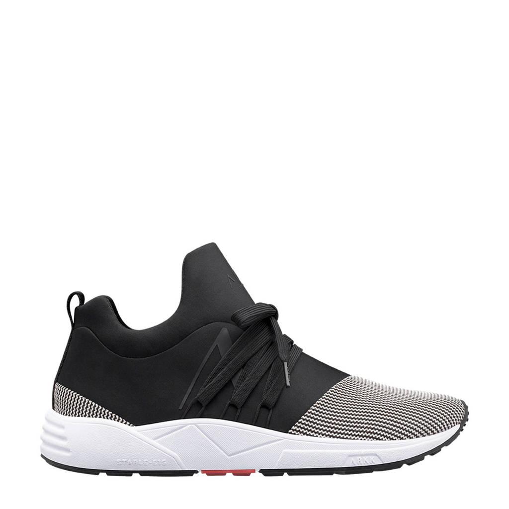 Arkk S-E15  sneakers zwart, Zwart