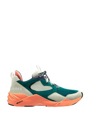 Kanetyk  sneakers groen/oranje