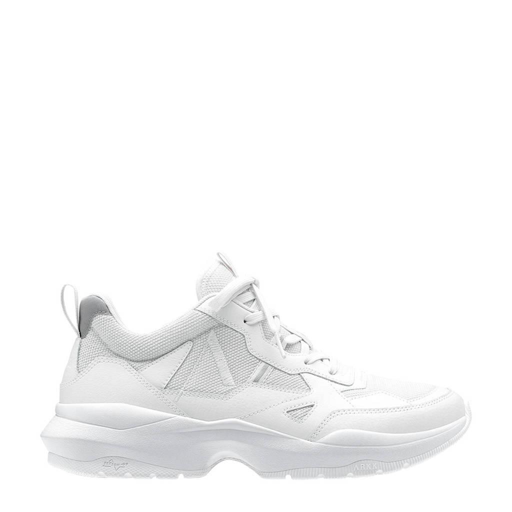 Arkk Quantm Leather Tekton-G9 sneakers wit, Wit
