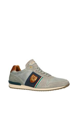Umito Uomo Low  leren sneakers grijs