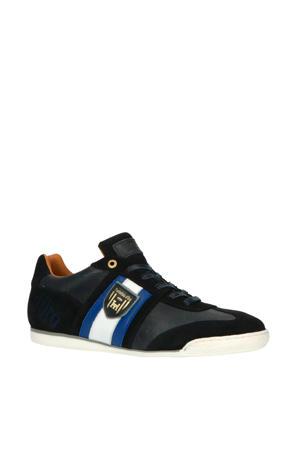 Imola Scudo NB Uomo Low  leren sneakers donkerblauw