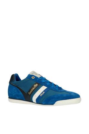 Vasto NB Uomo low  nubuck sneakers blauw