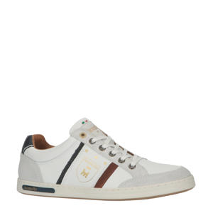 Mondovi Uomo Low  leren sneakers wit
