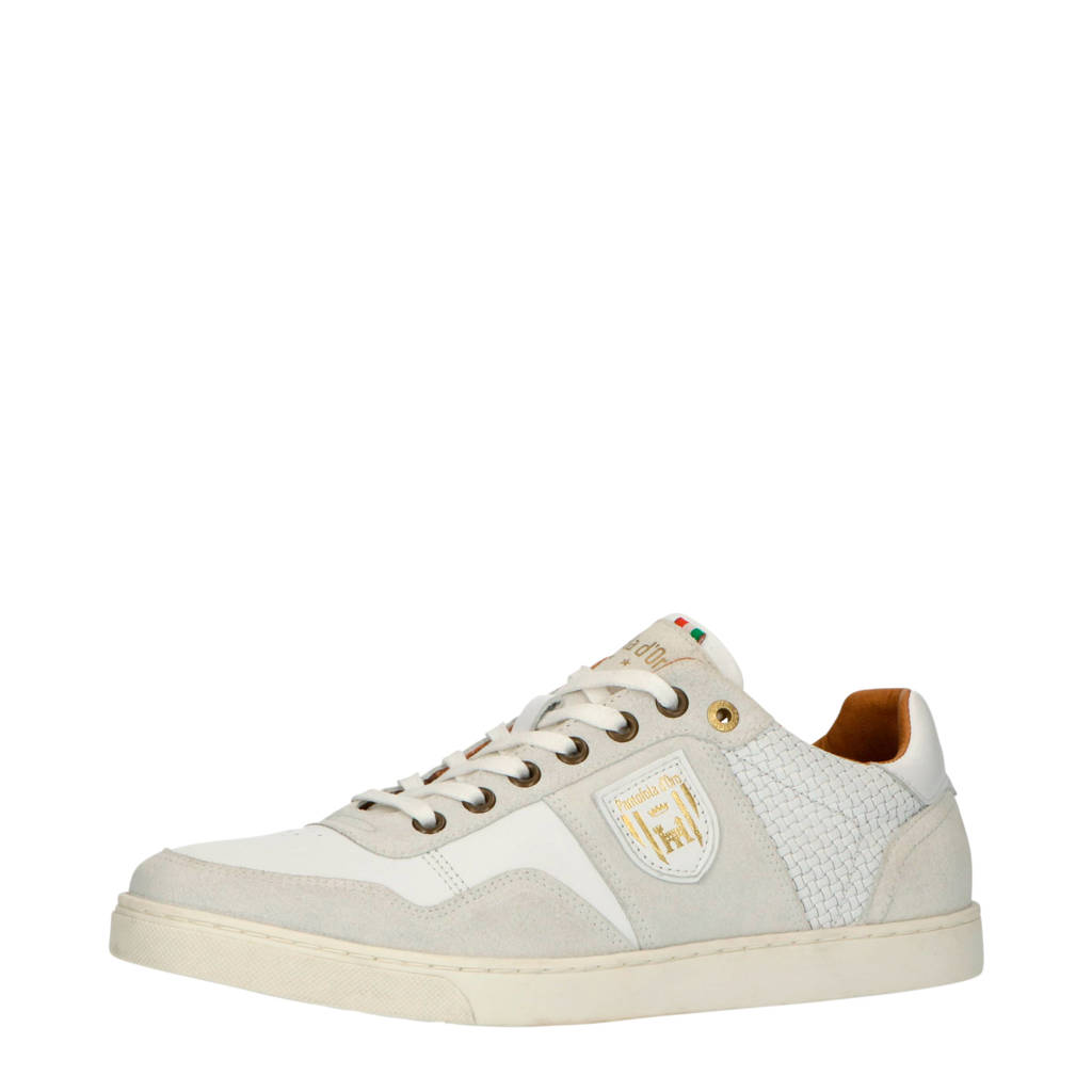 Pantofola d'Oro Ferme Uomo Low  leren sneakers wit, Wit
