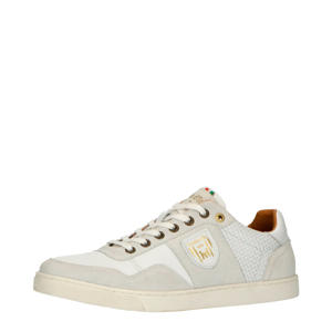 Ferme Uomo Low  leren sneakers wit