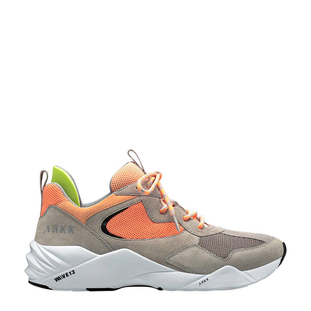 Arkk Kanetyk  sneakers beige/oranje, Beige/oranje