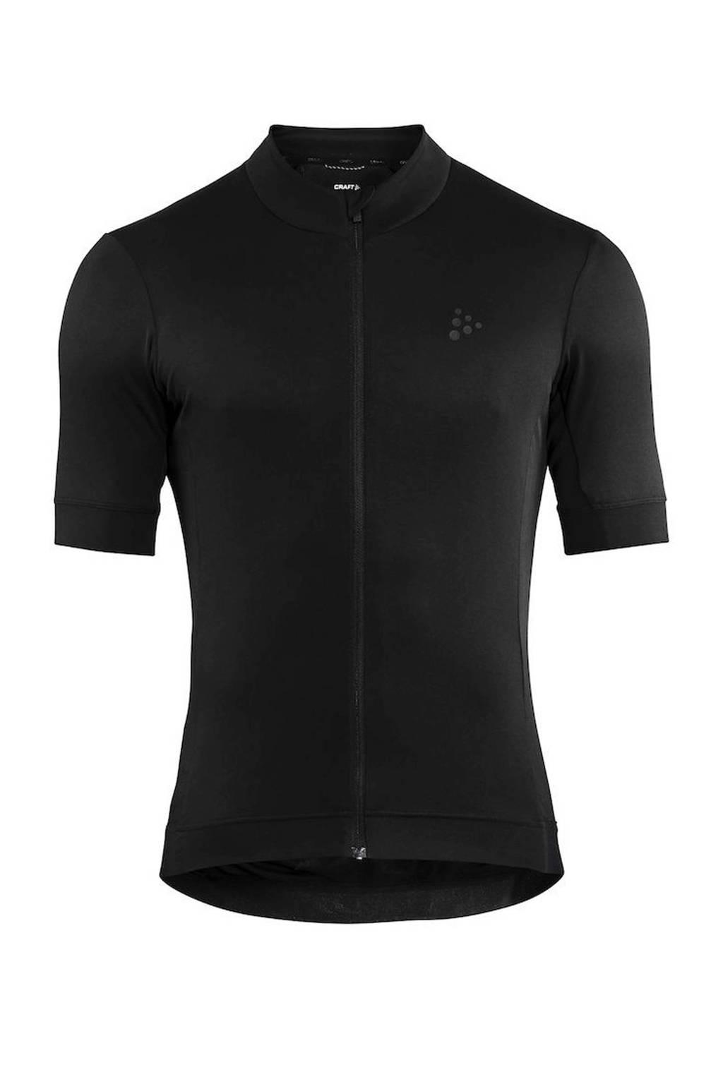 Craft   fietsshirt zwart, Zwart