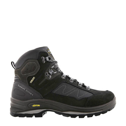 Grisport Everest Mid wandelschoenen zwart