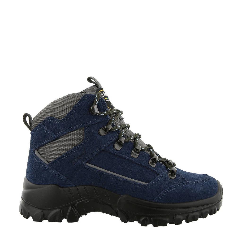 Grisport Rocky Mid wandelschoenen donkerblauw kids, Donkerblauw