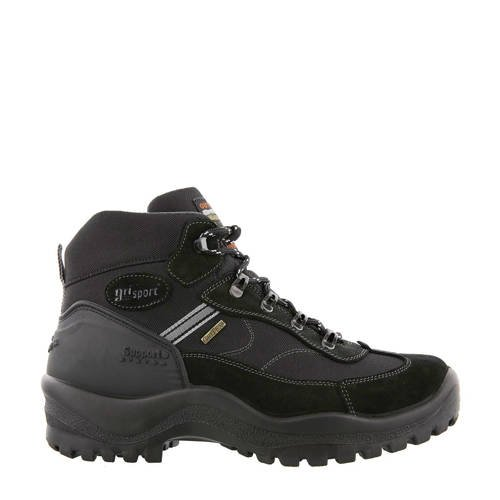 Grisport Torino Mid wandelschoenen zwart