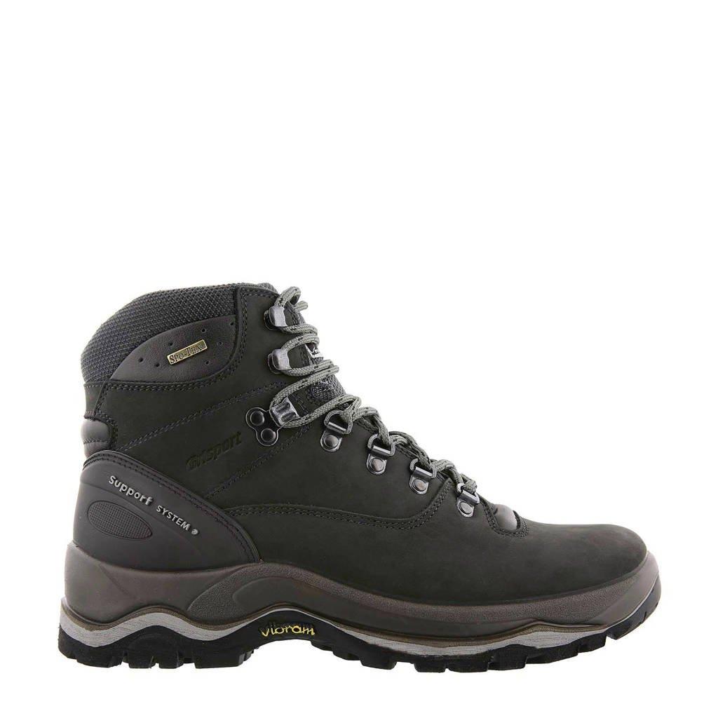 Grisport Merak Mid wandelschoenen zwart, Zwart/grijs
