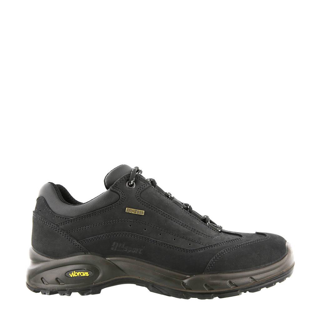 Grisport Travel Low wandelschoenen zwart, Zwart
