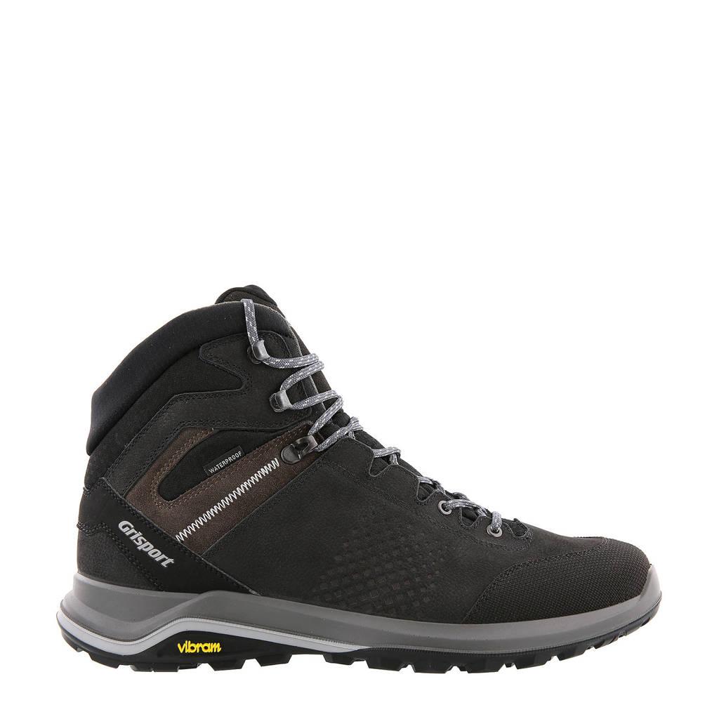 Grisport Teramo  wandelschoenen zwart, Zwart