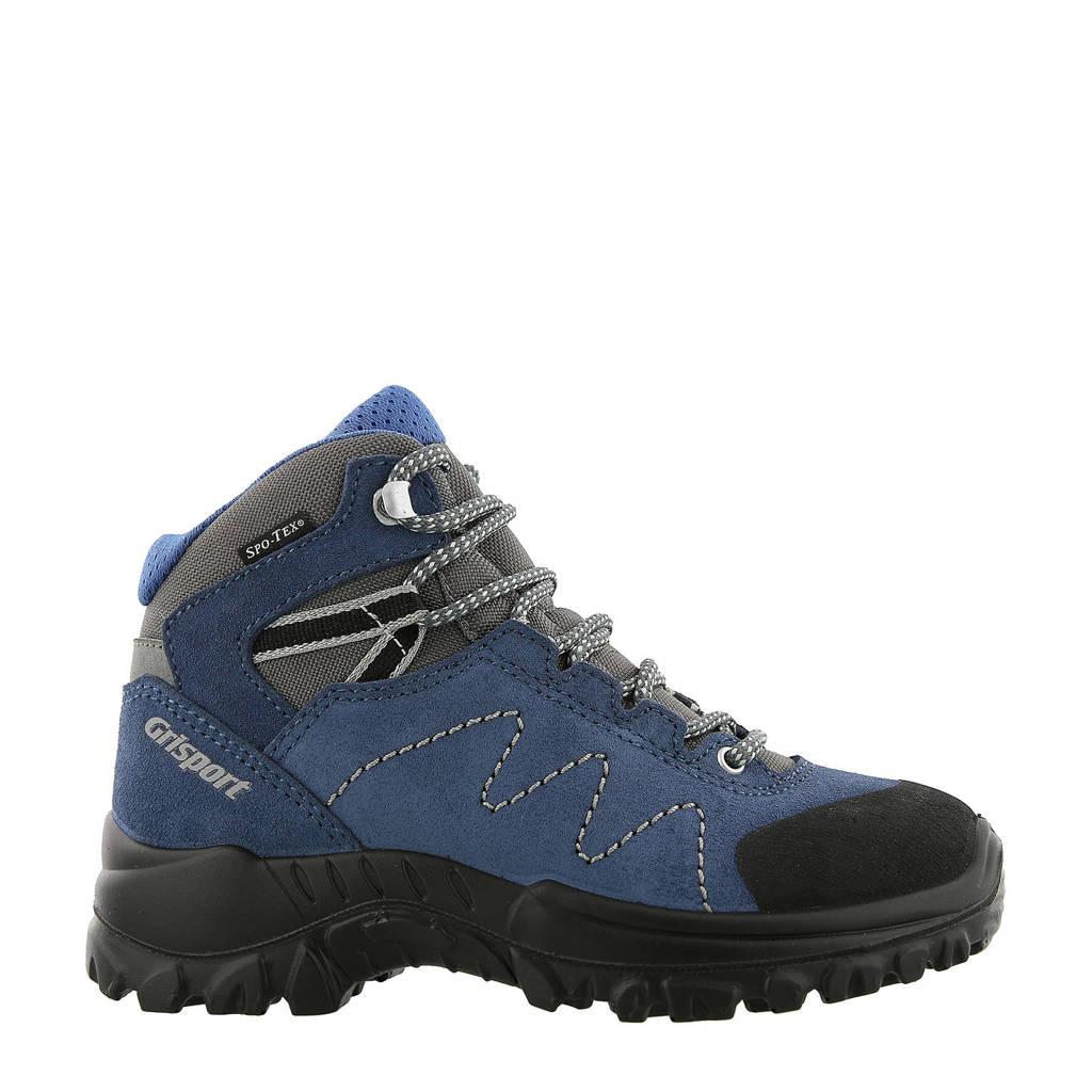 Grisport Phoenix Mid wandelschoenen blauw kids, Blauw