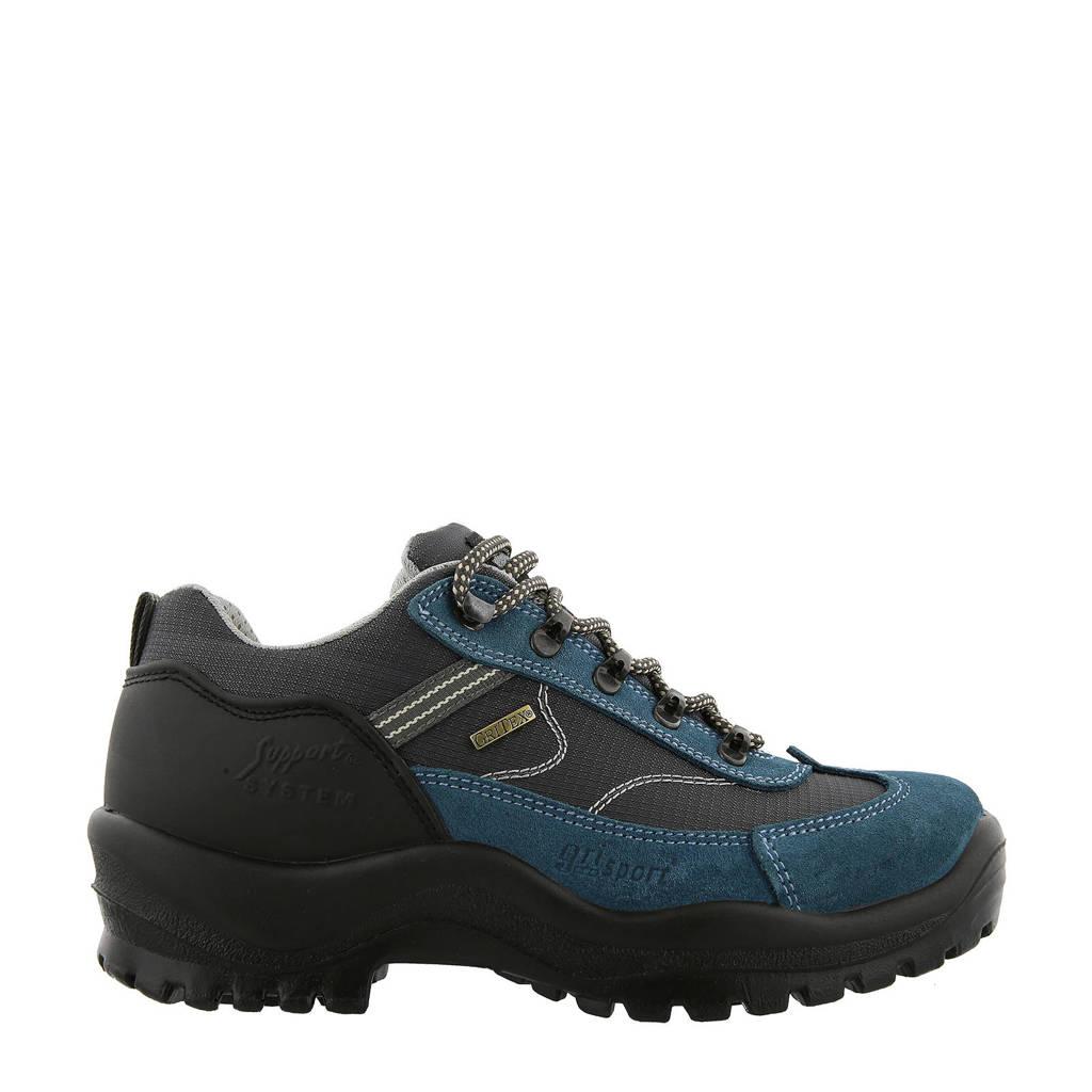 Grisport Torino Low wandelschoenen blauw, Blauw