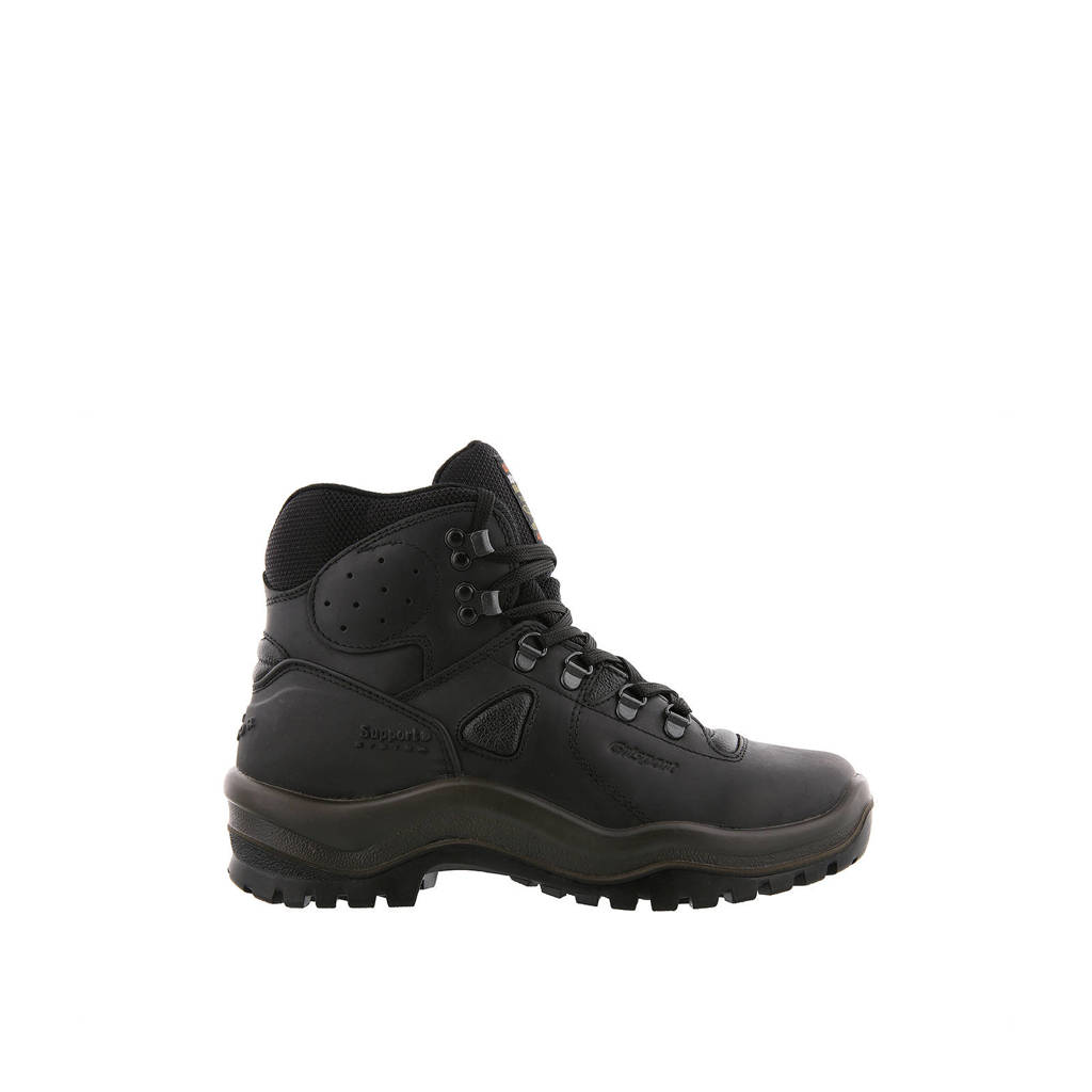 Grisport Sherpa  wandelschoenen zwart, Zwart