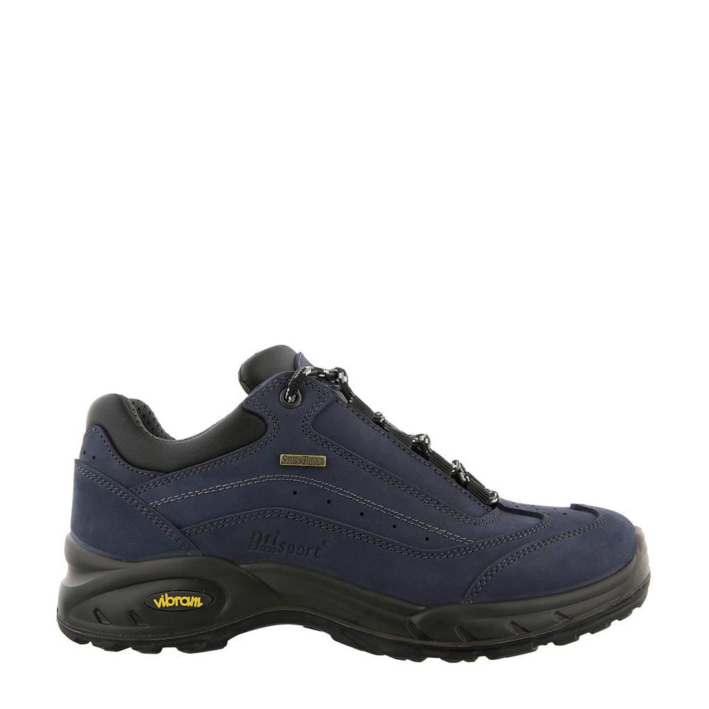 Grisport Travel Low wandelschoenen donkerblauw, Donkerblauw